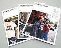 Backgrounds Magazine