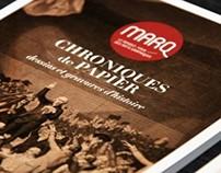 MARQ – Chronique de papier
