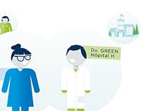Vidéo explicative 2 - milieu médical