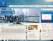 Finanzplatz Hamburg: Responsive Webdesign