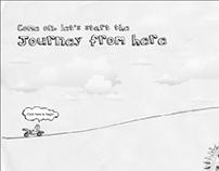 Interactive storytelling website - Happiness ka RoadMap