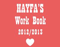 Hayfa's book 2012/2013