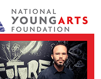 Postcard Design for National YoungArts Foundation