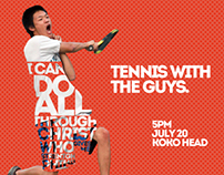 Men's Tennis Event Promo 2