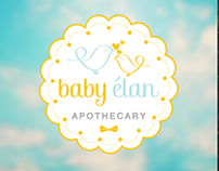 Baby Élan - Logo for Sale!