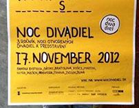 Noc Divadiel / Night of the theatres 2012