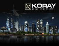 Koray Corporate Site & Visualization 2012