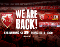 KK Crvena zvezda - We are back, movie promo