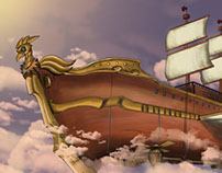 Steampunk Airship - Künturi