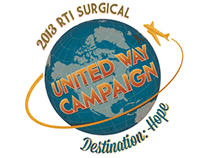 RTI United Way 2013 Campaign Posters