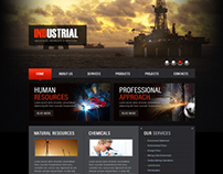 Industrial Products & Services Joomla Template