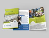 Company Brochure Bi-Fold Template