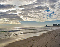 hiding sun (Cape Town/Blouberg)