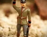 Soldiers, El Pais stop motion Spot. 2005.