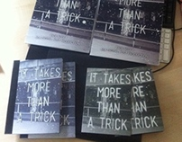 It Takes More Than A Trick - 60 Page Photography Book