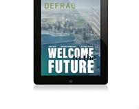 DEFRAG technology magazine for ipad/tablet