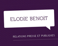 ELODIE BENOIT - Business Card