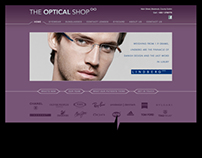 The Optical Shop website + id