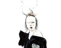 Contemporary High Level Fashion Illustration