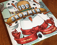 100 Snowmen children's book