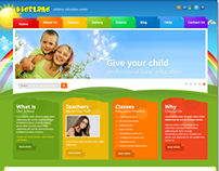 Kids Land Children Education Center Joomla Template