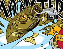 Monster Rockfish Tournament Tattoo Sleeve