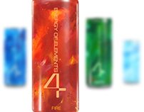 4 ENERGY OF ELEMENTS - Energy Drink