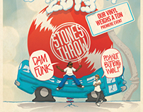 Stones Throw Japan Tour 2013 presented by Stussy
