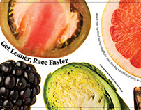 Inside Triathlon magazine Nutrition Features