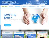 Energy Group Solar energy Joomla Template