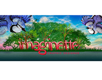 IMAGINETTE logo Illustration