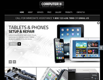PC Repair Hardware Service & Support Joomla Template