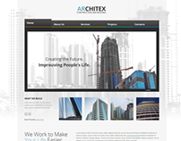 Architex Architecture Responsive Wordpress Template
