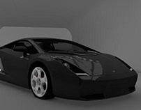 Lamborghini -Modelado 3D