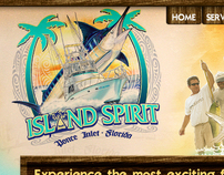 Island Spirit Fishing Web Design