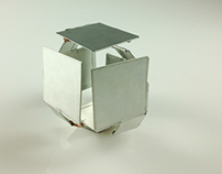 Tin Steel Expandable Cube