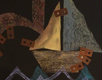 Printmaking: Boats, Fish Monotypes, Embossments