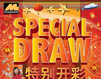Magnum 4D Special Draw Poster 2014