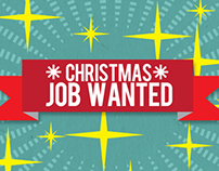 Christmas Job Wanted - Christmas iPhone 5/5S Case 2013
