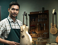 Dji Sam Soe 'Guitar Maker'