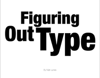 Figuring Out Type (Book on Typography)