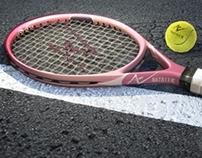 Tennis Racquet Render