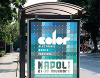 Manifesto Poster Electronic Music Festival NAPOLI
