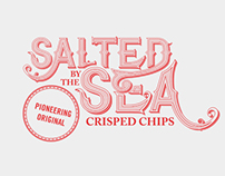 Salted By The Sea Crisped Chips - University Project