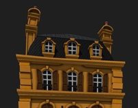Stylized Building Facade