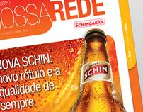 Project - Informativo Nossa Rede - Schicariol - Print