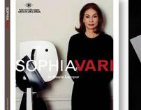 Sophia Vari Art Event Invitation