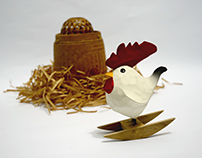 Rocking Rooster
