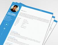 Metro Profile Page Design