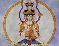 十一面观音,Ekādaśa mukhānām Avalokiteśvara